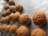 Mini Mascaporne, Hazelnut, and Honey Cup Loaf Cakes