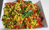 Easy Summer Menu: Sweet and Spicy Corn Salad