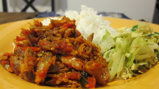 Spicy Shredded Chicken by Harini
