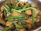 Stir Fry: Green Beans and Tempeh