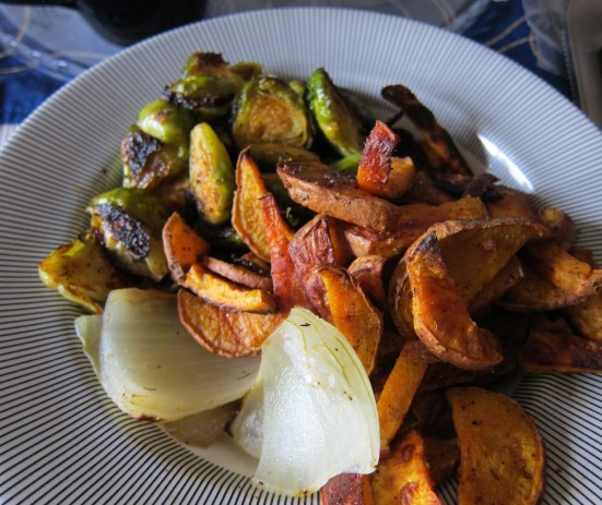 Roasted Veggie Combo by Harini
