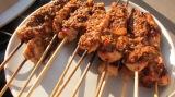 Chicken Satay with WalnutSauce