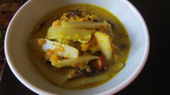 Squash and Shiitake Mushroom by Tiny Chili Pepper