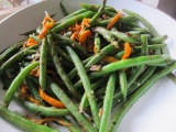 Sauteed Green Beans with Peppers andAnchovies