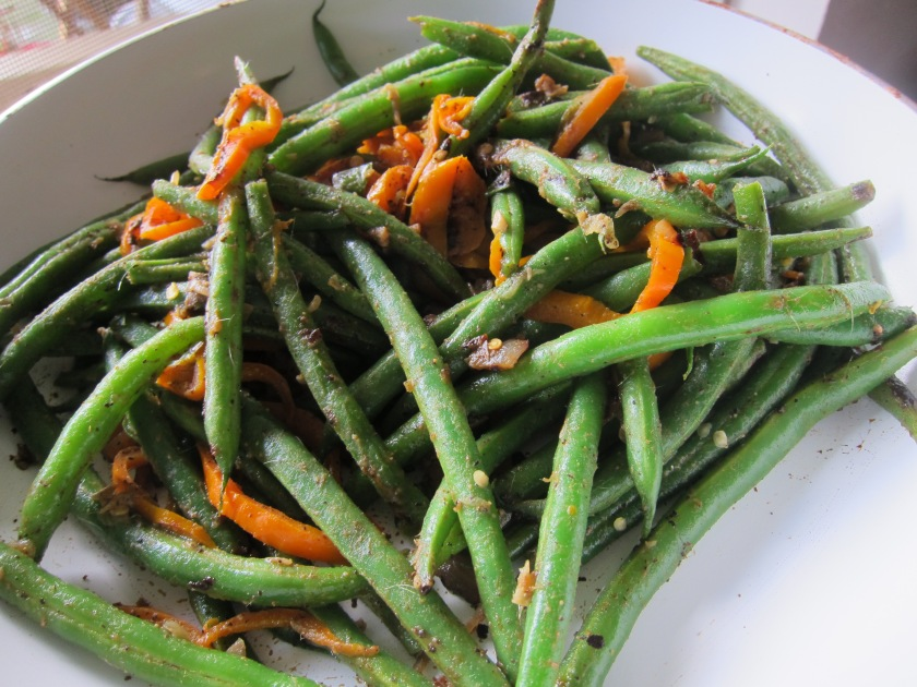Sauteed Green Beans with Anchovies and Pepper by TCP