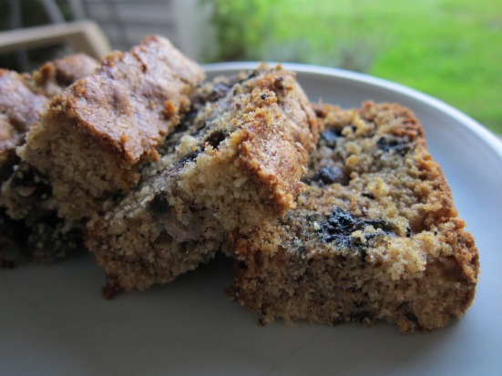Banana Blueberry Bread by Tiny Chili Pepper