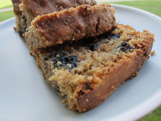 A favorite: banana-blueberry bread