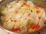 Sauteed Napa Cabbage