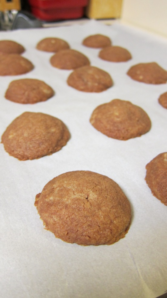 Fresh from the oven drop cookies