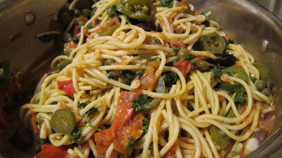 Spaghetti ala Puttanesca