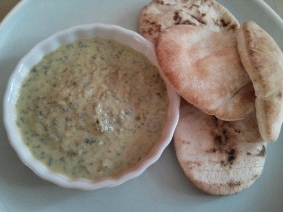 Parsley Yogurt Sauce